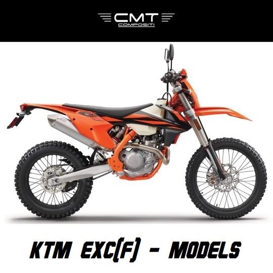 KTM EXC / EXC-F - MODELS