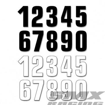 BLACKBIRD STARTNUMMERS 16 x 7,5CM (SET VAN 3)