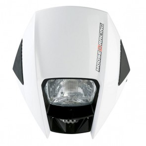 MOOSE RACING ROAD WARRIOR KOPLAMP WIT/ZWART