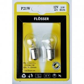 FLÖSSER 12V P21W 21W LAMP
