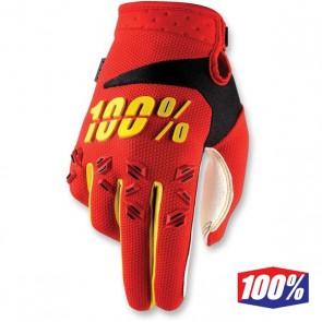 100% AIRMATIC HANDSCHOENEN - ROOD/GEEL