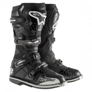 ALPINESTARS TECH 8 RS LAARZEN ZWART 2018