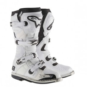 ALPINESTARS TECH 8 RS LAARZEN WIT 2018