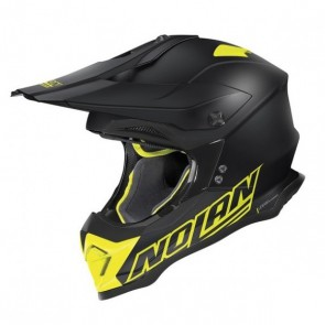 NOLAN N53 VULTUR - FLAT BLACK FLUO YELLOW