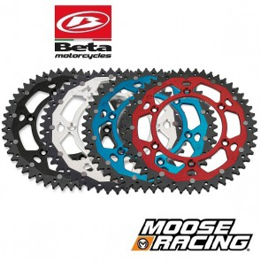 MOOSE RACING DUAL ALUMINIUM ACHTERTANDWIEL - BETA