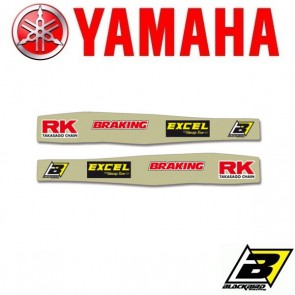 BLACKBIRD ACHTERBRUG STICKERS - YAMAHA