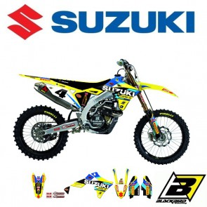 BLACKBIRD REPLICA TEAM STICKERSET + ZADELOVERTREK - SUZUKI - WORLD RESTYLE 2019