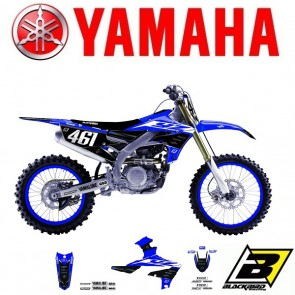 BLACKBIRD REPLICA TEAM STICKERSET + ZADELOVERTREK - YAMAHA - FACTORY RACING 2019