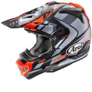 ARAI MX-V - JUSTIN BOGLE RED