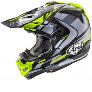 ARAI MX-V - JUSTIN BOGLE YELLOW