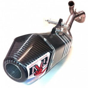 DVR EXHAUST - HEXAGONAL SLIP-ON
