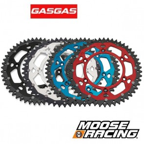 MOOSE RACING DUAL ALUMINIUM ACHTERTANDWIEL - GAS GAS