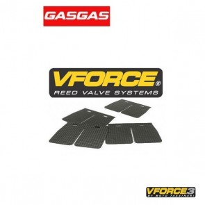 V-FORCE 3 MEMBRAANPLAATJES - GAS GAS