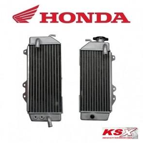 KSX RADIATEUR LINKS / RECHTS / SET - HONDA