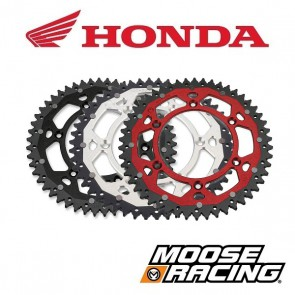 MOOSE RACING DUAL ALUMINIUM ACHTERTANDWIEL - HONDA
