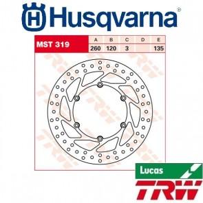 TRW REMSCHIJF - VOOR & ACHTER - HUSQVARNA (IT)
