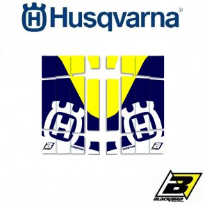 BLACKBIRD REPLICA TROPHY LOUVER STICKERS - HUSQVARNA
