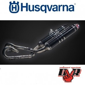 DVR EXHAUST SUPERMOTO - HUSQVARNA