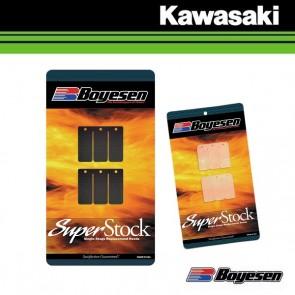 BOYESEN SUPER STOCK MEMBRAANPLAATJES - KAWASAKI