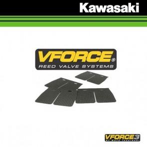 V-FORCE 3 MEMBRAANPLAATJES - KAWASAKI
