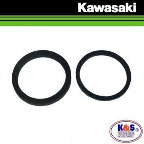 K&S REMKLAUW ZUIGER KEERING SET ACHTER - KAWASAKI