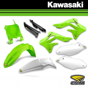 CYCRA POWERFLOW BODYKIT / KAPPENSET COMPLEET - KAWASAKI
