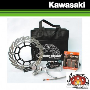 MOTOMASTER FLAME SUPERMOTO RACING KIT 320MM - KAWASAKI