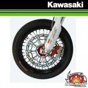 MOTOMASTER 320MM STREET SUPERMOTO VOORREMSCHIJF - KAWASAKI