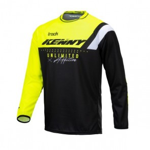 KENNY CROSS SHIRT - TRACK NEON GEEL