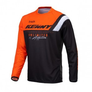 KENNY CROSS SHIRT - TRACK NEON ORANJE