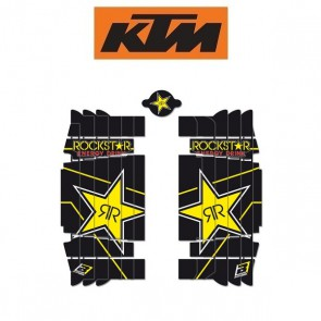 BLACKBIRD ROCKSTAR ENERGY LOUVER STICKERS - KTM