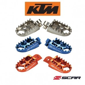 SCAR EVOLUTION RACING VOETSTEUNEN - KTM