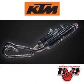 DVR EXHAUST SUPERMOTO - KTM TITANIUM
