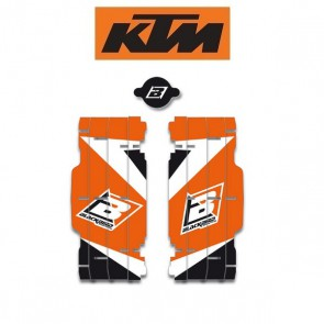 BLACKBIRD DREAM 3 LOUVER STICKERS - KTM
