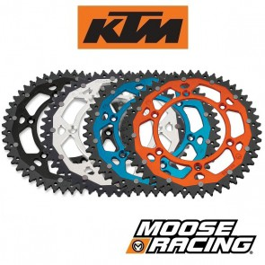 MOOSE RACING DUAL ALUMINIUM ACHTERTANDWIEL - KTM