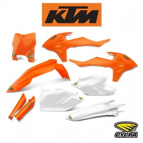 CYCRA POWERFLOW BODYKIT / KAPPENSET COMPLEET - KTM