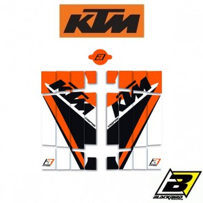 BLACKBIRD REPLICA TROPHY 2019 LOUVER STICKERS - KTM