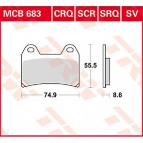 TRW MCB683 SRQ SINTER REMBLOKKEN