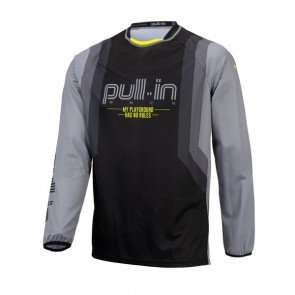 PULL IN CROSS SHIRT - MASTER GRIJS V1