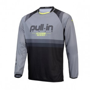 PULL IN CROSS SHIRT - MASTER GRIJS V2