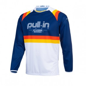 PULL IN CROSS SHIRT - MASTER BLAUW V2
