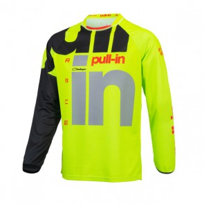 PULL IN CROSS SHIRT - RACE LIME