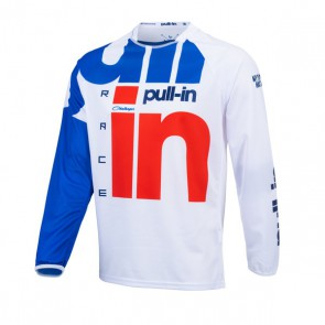 PULL IN CROSS SHIRT - RACE WIT/ ROOD