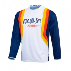 PULL IN CROSS SHIRT - MASTER BLAUW V1