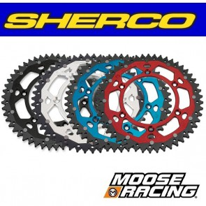 MOOSE RACING DUAL ALUMINIUM ACHTERTANDWIEL - SHERCO