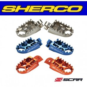 SCAR EVOLUTION RACING VOETSTEUNEN - SHERCO