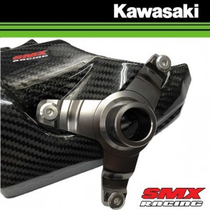 SMX Racing Carbon Air Scoop bracket adapter KAWASAKI