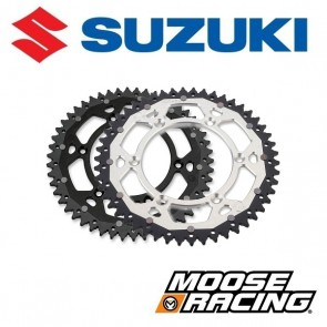 MOOSE RACING DUAL ALUMINIUM ACHTERTANDWIEL - SUZUKI