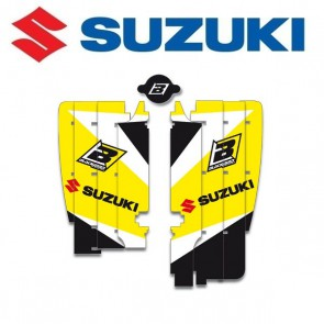 BLACKBIRD DREAM 3 LOUVER STICKERS - SUZUKI