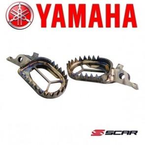 SCAR TITANIUM VOETSTEUNEN - YAMAHA